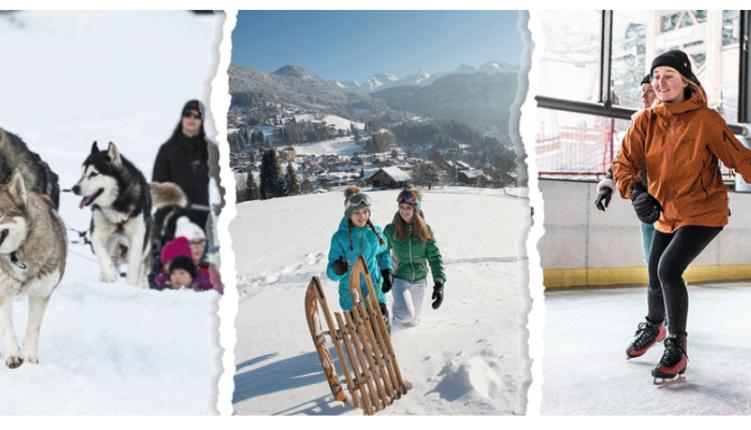 La Clusaz, mars, activités, Alpes Immobilier