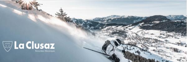la clusaz domaine skiable remontées mécanique