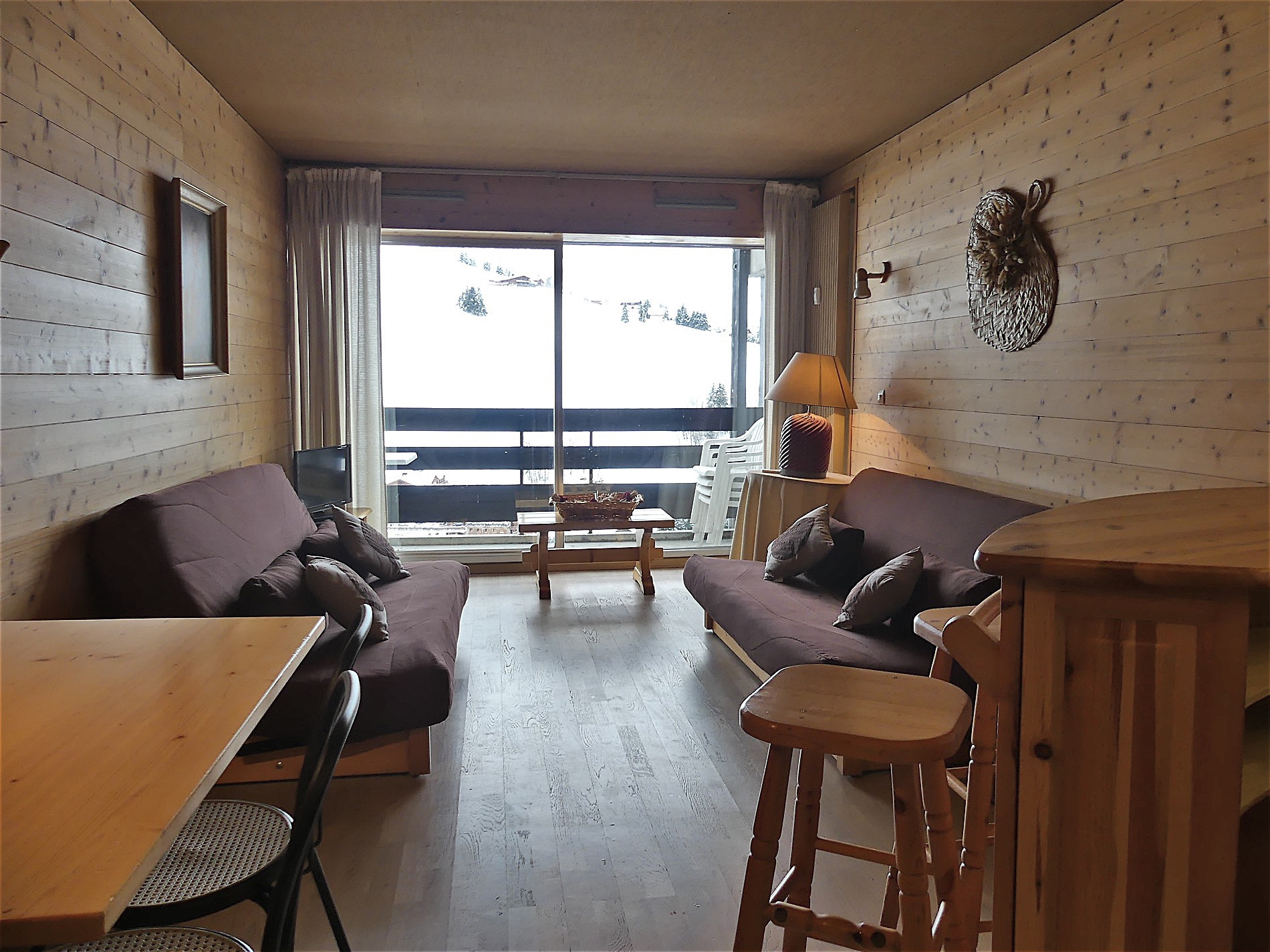in La Clusaz - Aiguille Verte 27 - Flat for 4 people, nice view