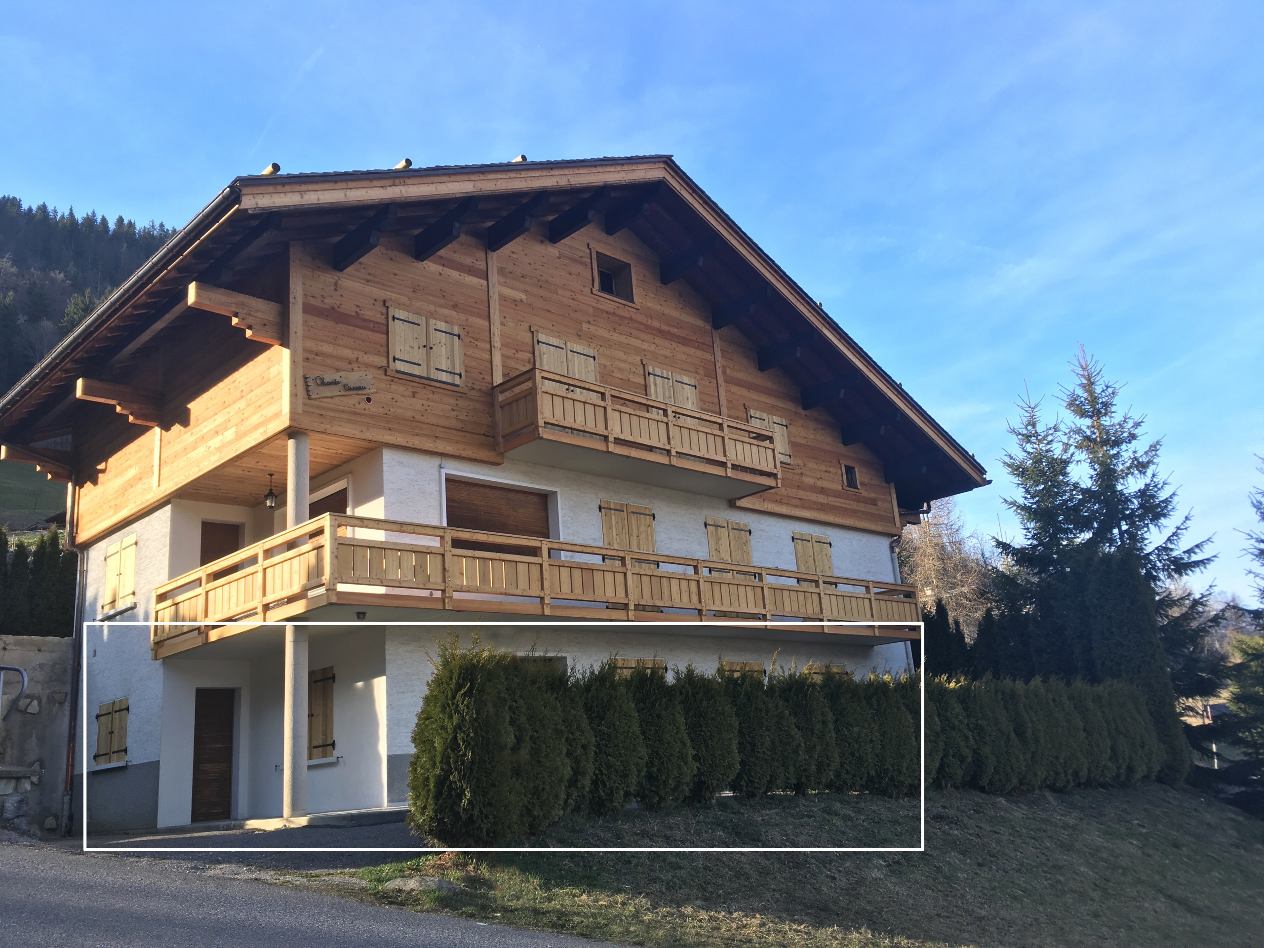 Villa in La Clusaz - Chantoiseau 1 - Apartment for 6 people 2* on the ski slope