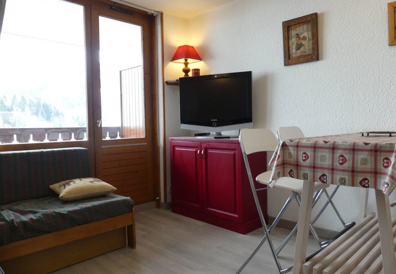 Studio in La Clusaz - Alcyon A23 - Studio for 4 people 2* near tracks and village