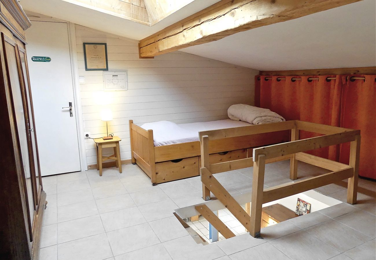 Apartment in La Clusaz - Candia 5 - Duplex for 5/6 people 2* in the village