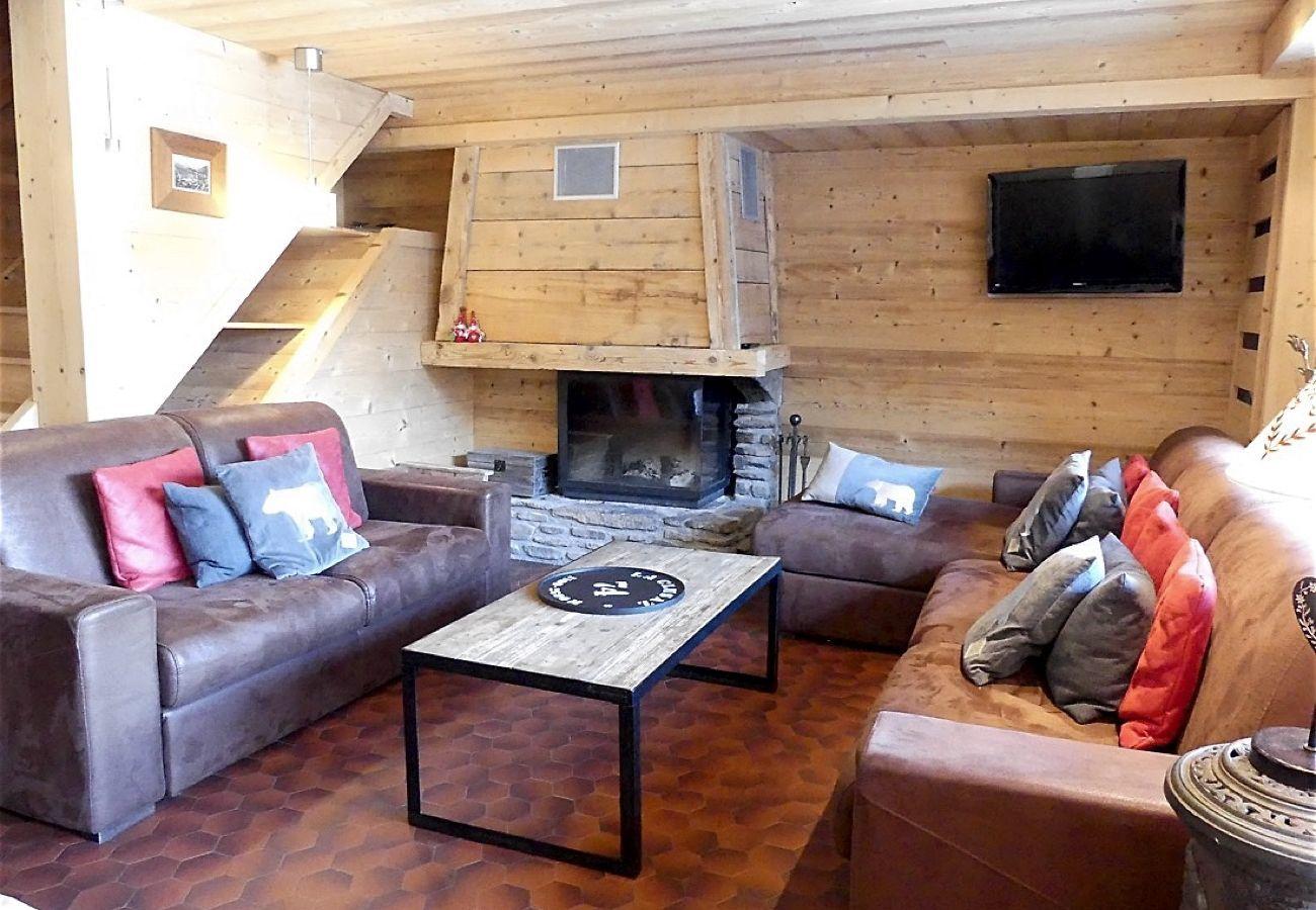 Apartment in La Clusaz - Noisettes 3 - Duplex for 6 people 3* nice view