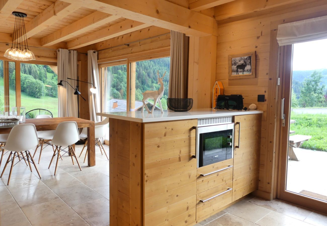 Chalet in La Clusaz - Chalet Sable, charming chalet facing the mountains