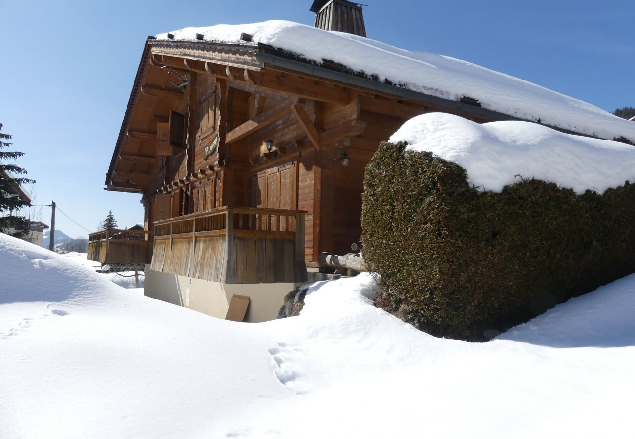 Chalet in La Clusaz - Le Paturage, charming half-chalet facing the mountains