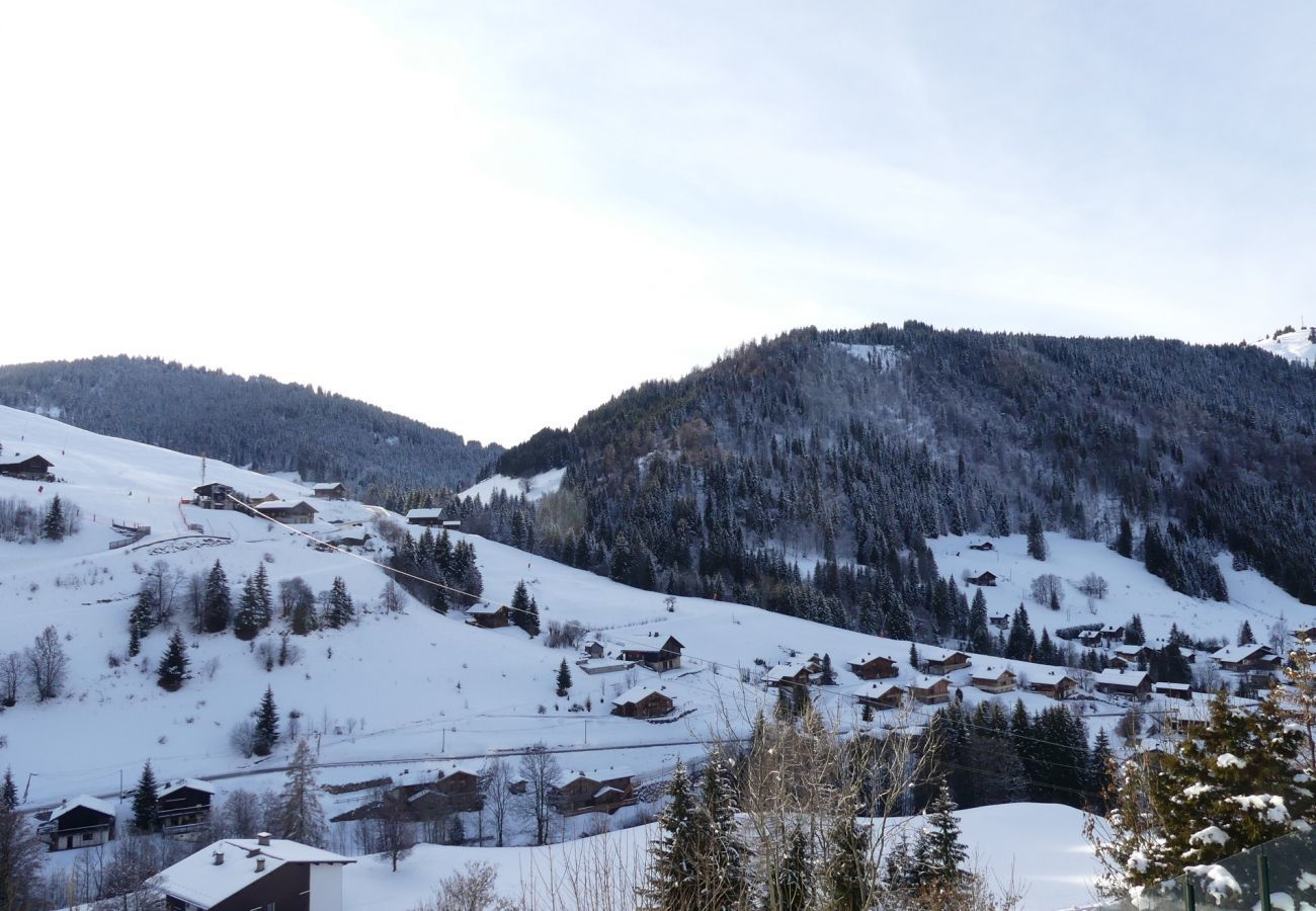 Appartement à La Clusaz - Aravis 1500-11 - Appartement 6 pers. 2* skis aux pieds