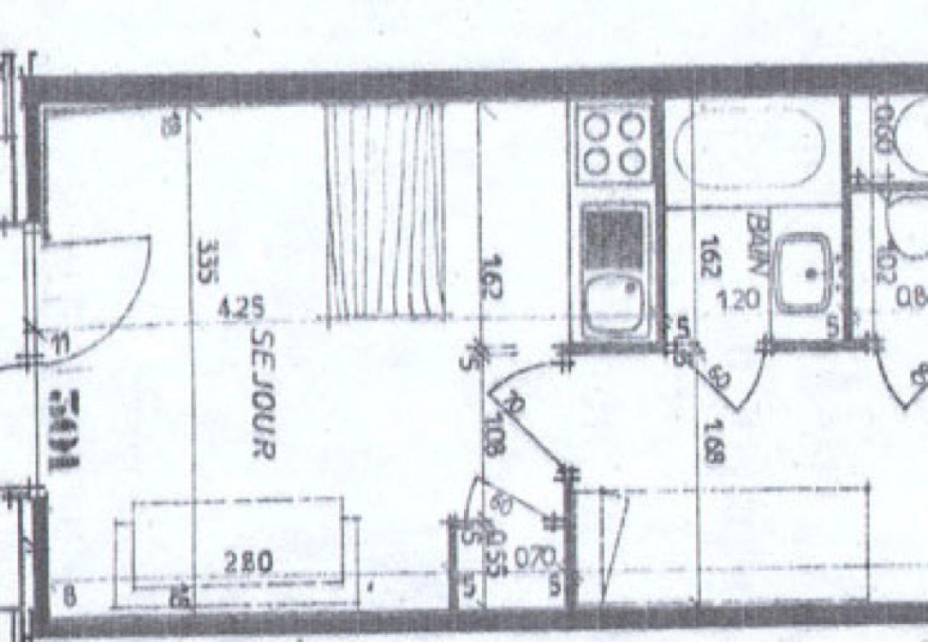 Appartement à La Clusaz - Résidence 3-301 - Appartement 4 pers. 3* belle vue