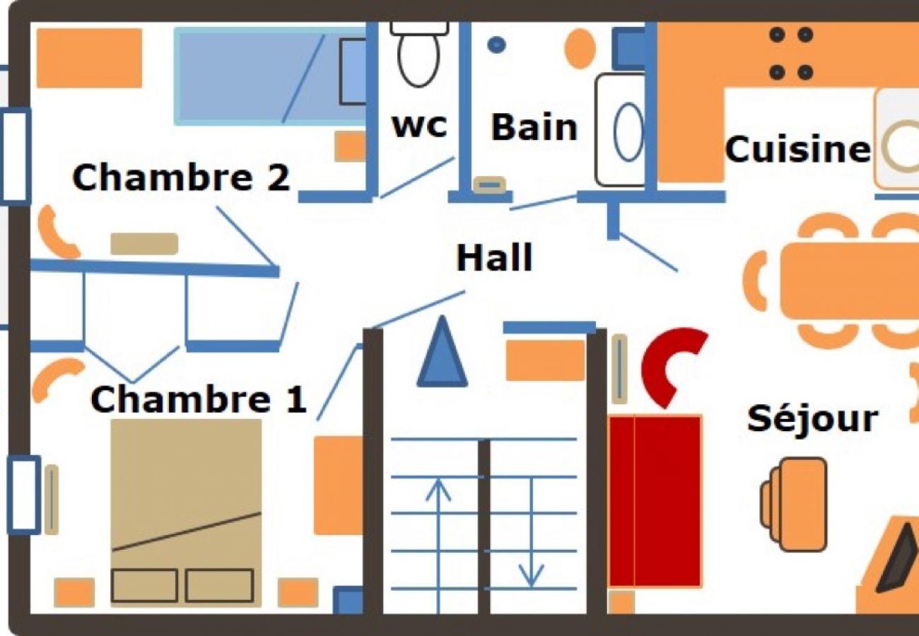 Appartement à La Clusaz - Resse - Appartement 6 pers. 3* centre village, proche pistes