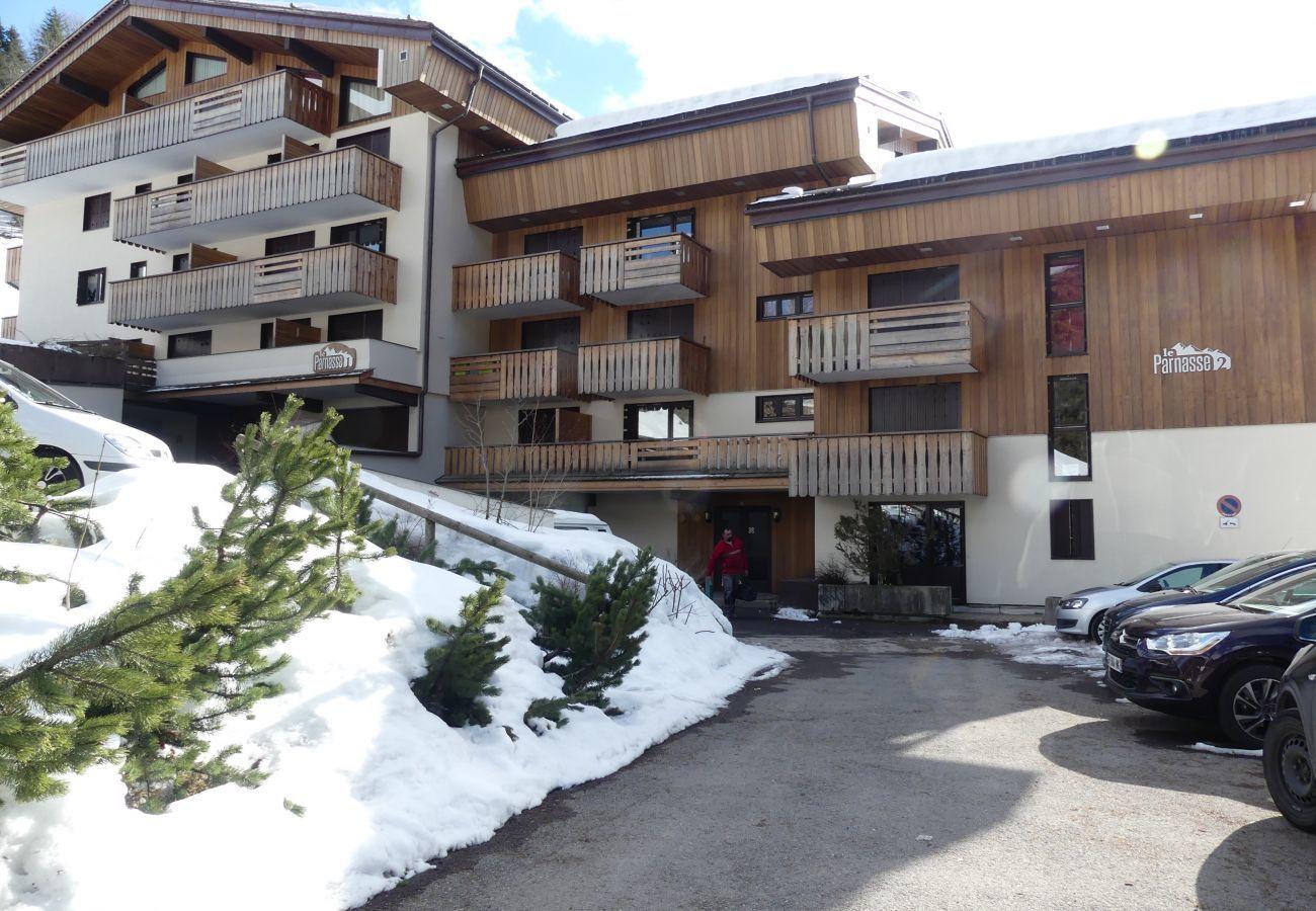 Studio à La Clusaz - Parnasse 201 - Appartement 4 pers. 3* sur les pistes, centre village