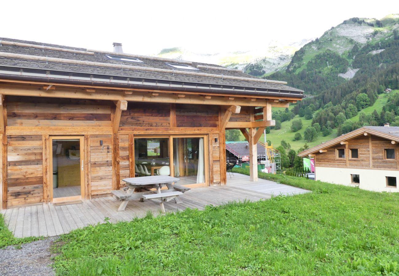 Chalet à La Clusaz - Chalet Sable, charmant chalet face aux montagnes
