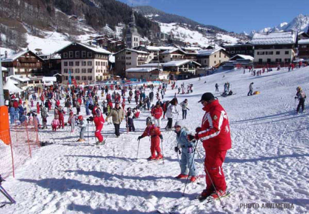 Appartement à La Clusaz - La Riviera 2 - Appartement 4 pers, skis aux pieds